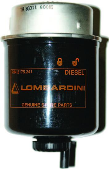 Gázolajszűrő LOMBARDINI